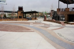 The durable hardscape surfaces at Centennial Center Park were created using Bomanite Imprint Systems and Bomanite Exposed Aggregate Systems, both of which serve as a backdrop to display historical facts and informational content throughout the park and earned our colleague Premier Concrete Services the 2019 Bronze Award for Best Bomanite Exposed Aggregate Project under 6,000 SF for their skillful and detailed installation.