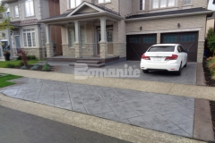 Our associate Bomanite Toronto installed this stunning stamped concrete driveway and front porch entrance for a Burlington, Ontario homeowner and their expert installation of Bomanite Imprint Systems and the Bomacron Yorkshire Stone imprint pattern earned them the Silver Award in 2017 for Best Bomanite Imprint Project under 12,000 SF.